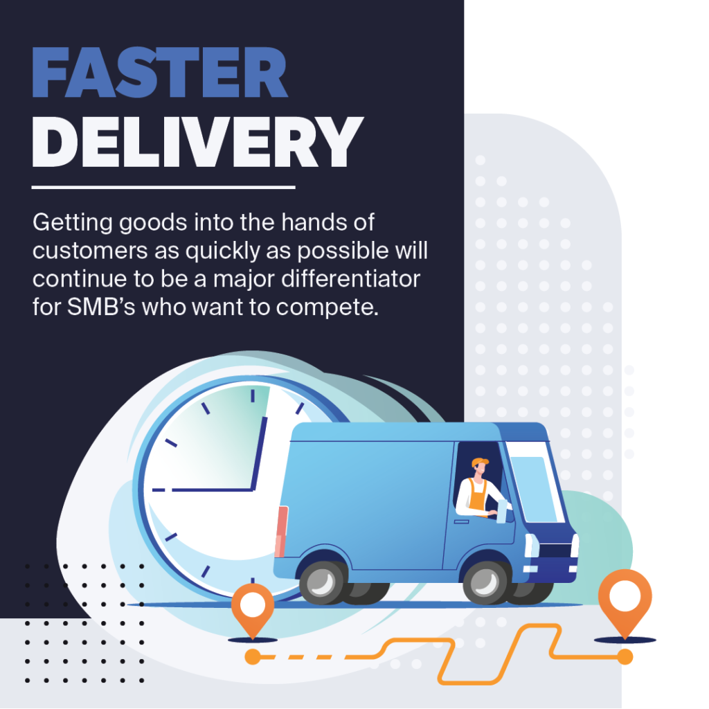 faster delivery